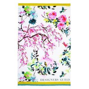 NWT Designers Guild Chinoiserie Peony Tea Towel